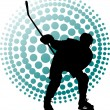 Stock Vector: Hockey
