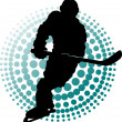 Stock Vector: New hockey players (symbol)