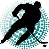 Hockey sprint — Stock Vector