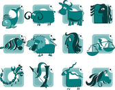 Zodiac — Stock Vector