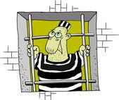 Więzienie — Wektor stockowy