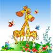 giraffe — Stock Vector