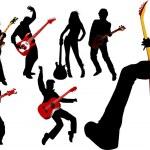 Постер, плакат: Musicians guitarist