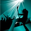 Stock Vector: Rock concert
