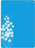 Arka plan-çiçek — Stok Vektör