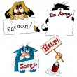 Sorry — Vector de stock #2392893