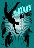 Baile de reis — Vetorial Stock