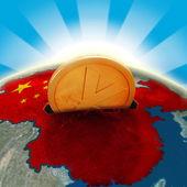 China moneybox — Stock Photo