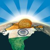 India moneybox — Stock Photo
