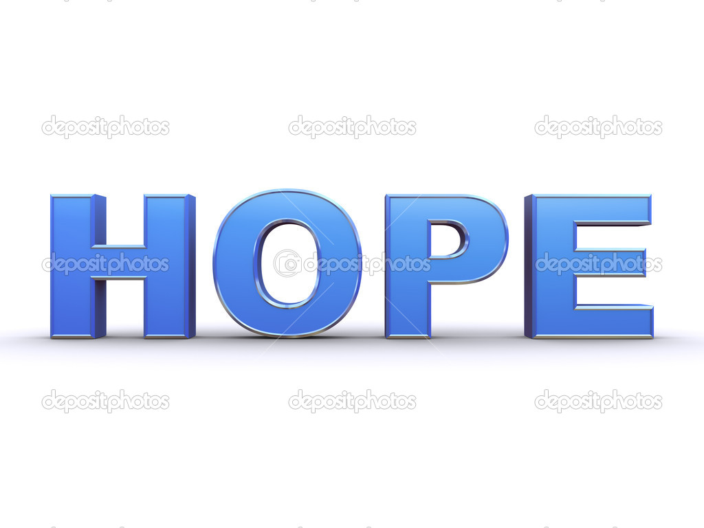 Hope sign — Stock Photo #1959793