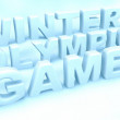 Winter olympic games — Stock Photo #1960105