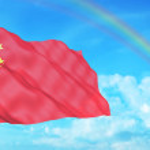 China flag — Stock Photo #2319301
