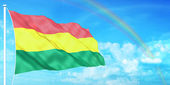Bolivia flag — Stock Photo