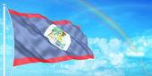Belize flag — Stock Photo