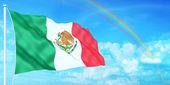 Mexico flag — Stock Photo
