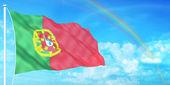 Portugal flag — Stock Photo