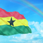 Постер, плакат: Ghana flag