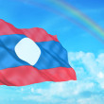 Laos flag — Stock Photo #2579839