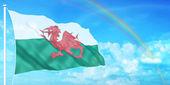 Wales flag — Stock Photo