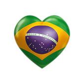 I love Brazil — Stock Photo
