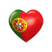 I love Portugal — Stock Photo