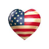 I love USA — Stock Photo