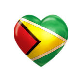 I love Guyana — Stock Photo