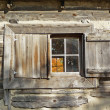 Nineteenth century cabin window — Stock Photo #2081710