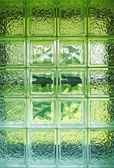 Glass cube window abstract background — Stock Photo