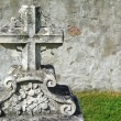 Stock Photo: Nineteenth century gravestone detail