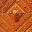 Antique door panel detail — Stock Photo #2154707