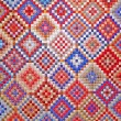 Colorful quilt detail — Stock Photo #2155430