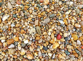 Colorful beach stones background — Stock Photo