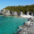 Indian head cove in early spring — Stockfoto