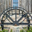 Old mill water wheel — Stock Photo