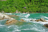 Niagara river rapids — Stock Photo