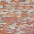 Vintage brick wall with deep texture — Stock Photo