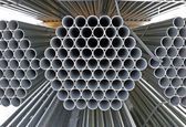 Abstract pipe bundles — Stock Photo