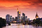 Frankfurt am Main, Germany — Stock Photo