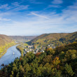Moselle Valley near Cochem, Germany - Stock Photo