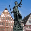 Lady Justice, Frankfurt — Stock Photo