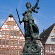 Royalty-Free Stock Photo: Lady Justice, Frankfurt