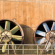Stock Photo: Obsolete Industrial Turbines