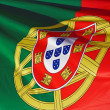 Portuguese Flag - Stock Photo