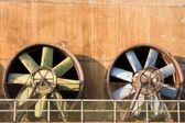 Obsolete Industrial Turbines — Stock Photo
