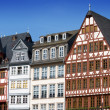Half-timbered houses in Frankfurt — Stock Photo