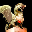 Dragon - Symbol of Ljubljana — Stock Photo