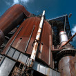 Stock Photo: Obsolete Industrial Plant