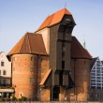 The Old Crane in Gdansk — Stock Photo #1990575