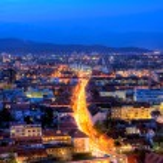 Slovenian capital Ljubljana — Stock Photo
